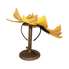 Herald & Heart Sunflower Style Fascinator Hat