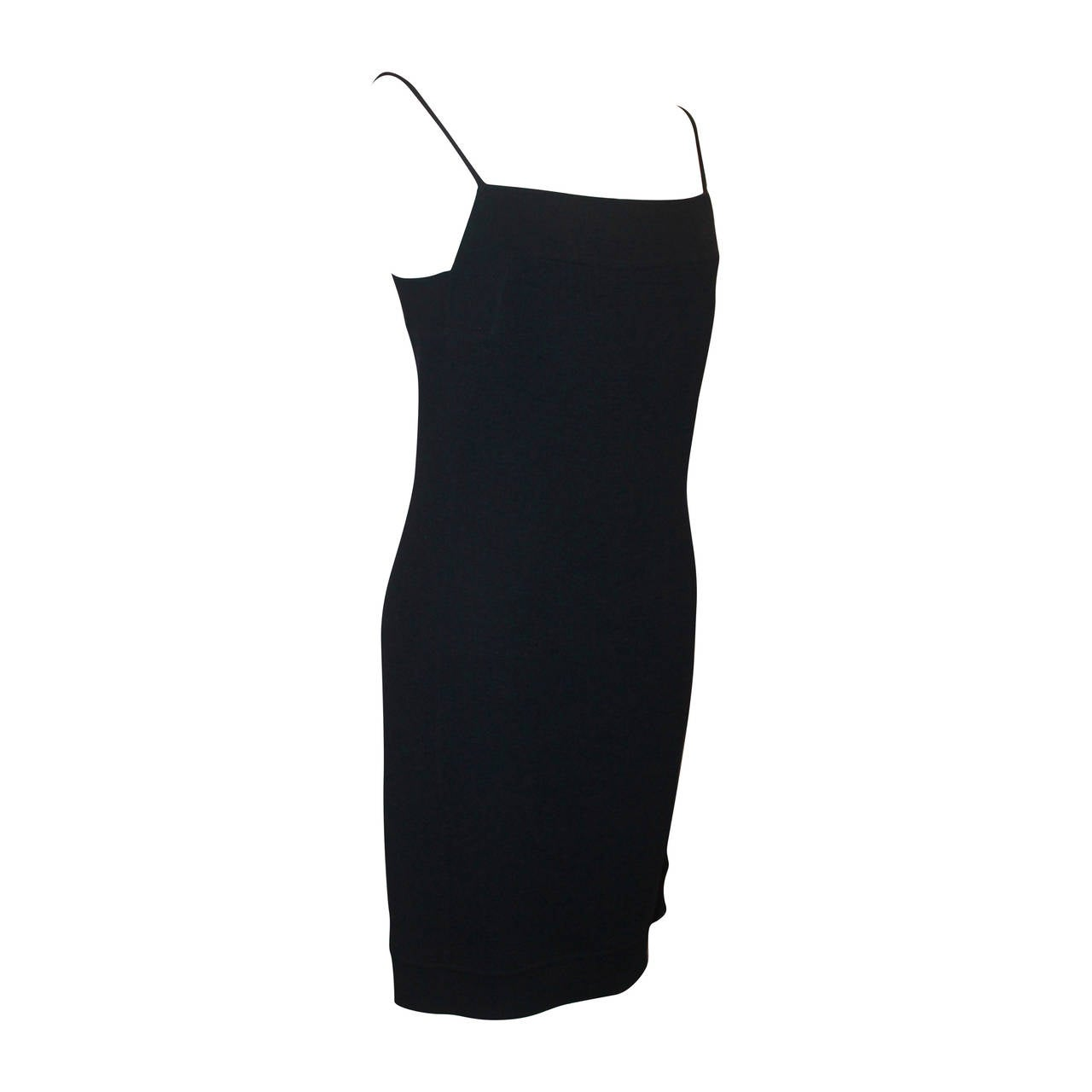 Chado Navy Wool Dress - 10