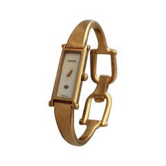 Gucci Goldtone Mother of Pearl Bracelet-Style Watch