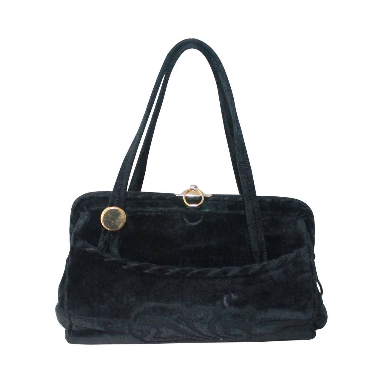 1stdibs Multicolor Velvet Handbag GLT2ww0c2n
