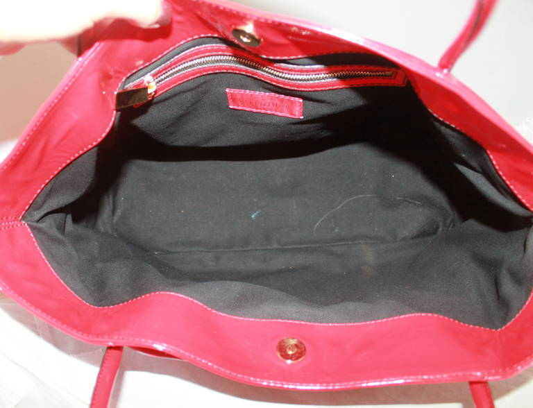 Valentino Red Plastic Bow Bag 5