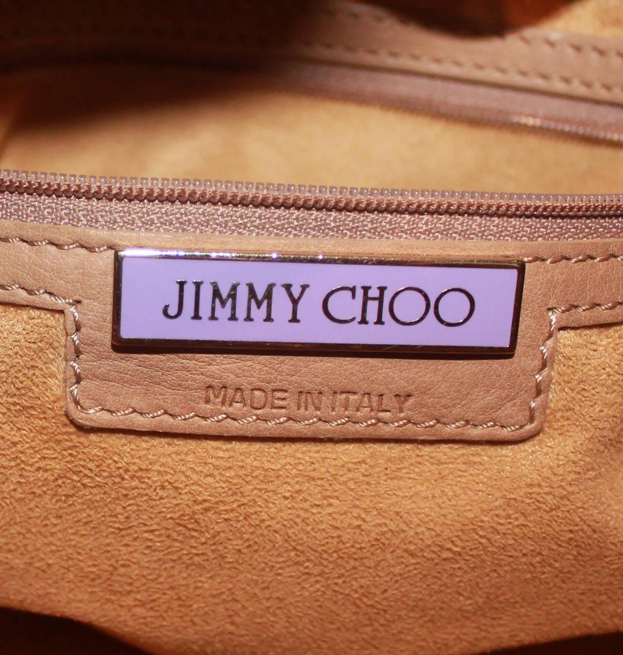 f32e879b66 Jimmy Choo Tan Ramona Handbag For Sale 1