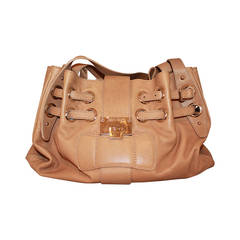 Jimmy Choo Tan Ramona Handbag