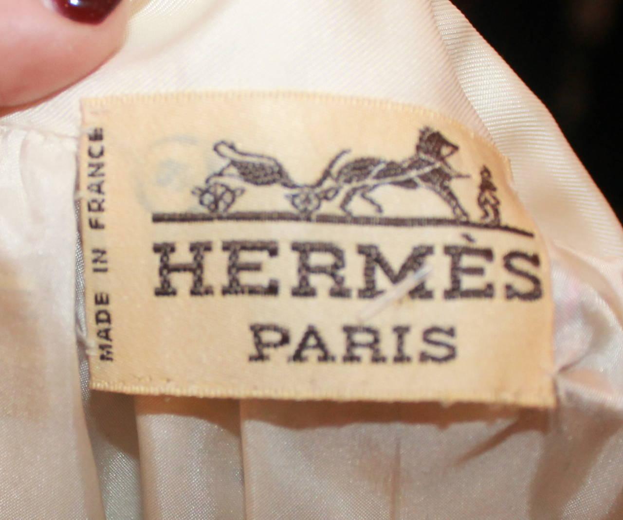 Hermes Vintage Silk Liberty Printed Skirt - circa 1990s - 34 5