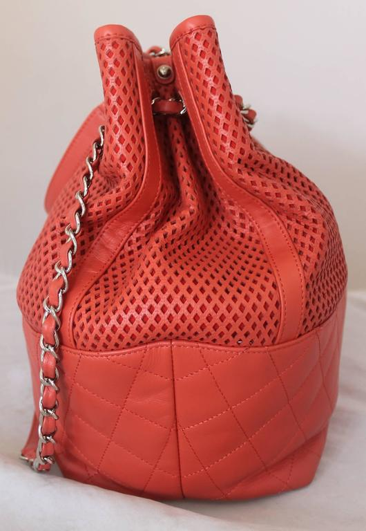 "Chanel Coral Spring North/South ""Up in the Air"" Tote - circa spring 2013 2"