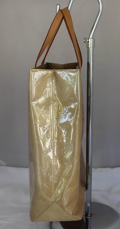 Louis Vuitton Mustard Vernis Reade Mm Long Tote - Circa 2001 N1wt0P