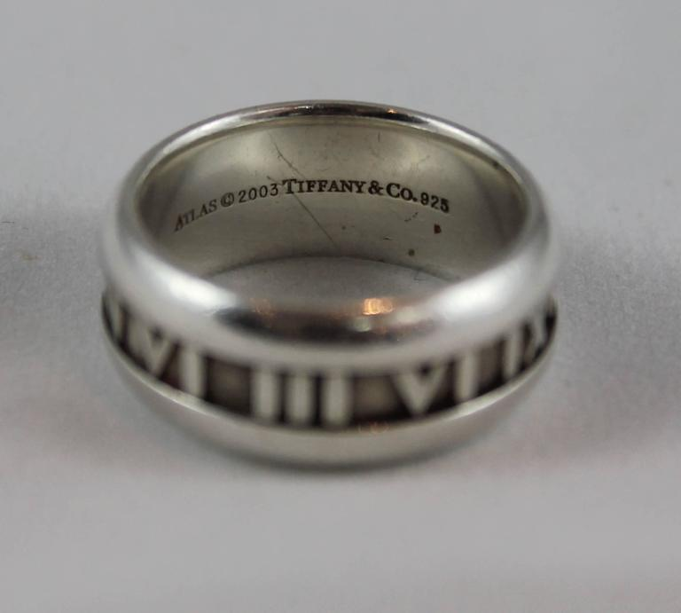 Tiffany and co sterling silver atlas ring 9 2003 for sale at tiffany co sterling silver atlas ring 9 2003 this ring is aloadofball Choice Image