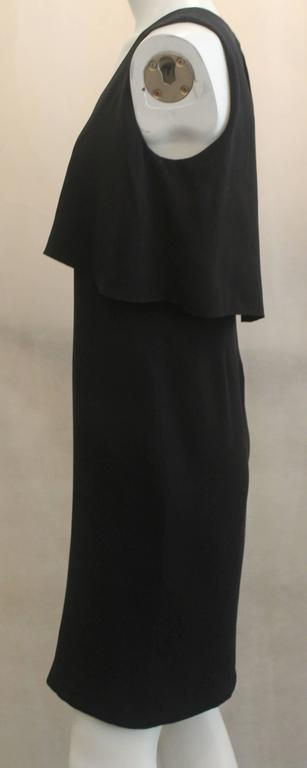 Chanel Black Silk Sleeveless Dress - 36 - 07A In Excellent Condition For Sale In Palm Beach, FL