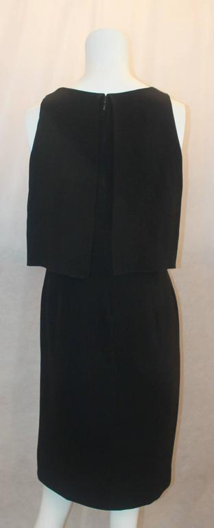 Women's Chanel Black Silk Sleeveless Dress - 36 - 07A For Sale
