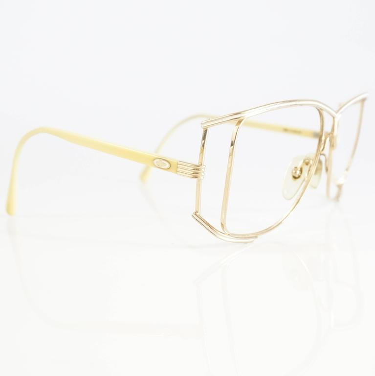 Christian Dior Gold Thin Frames - 1970's 2