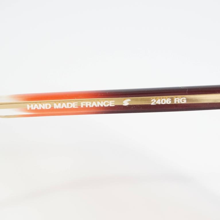 Balenciaga Pink Diamond Shape Lucite Sunglasses - 1970's  5