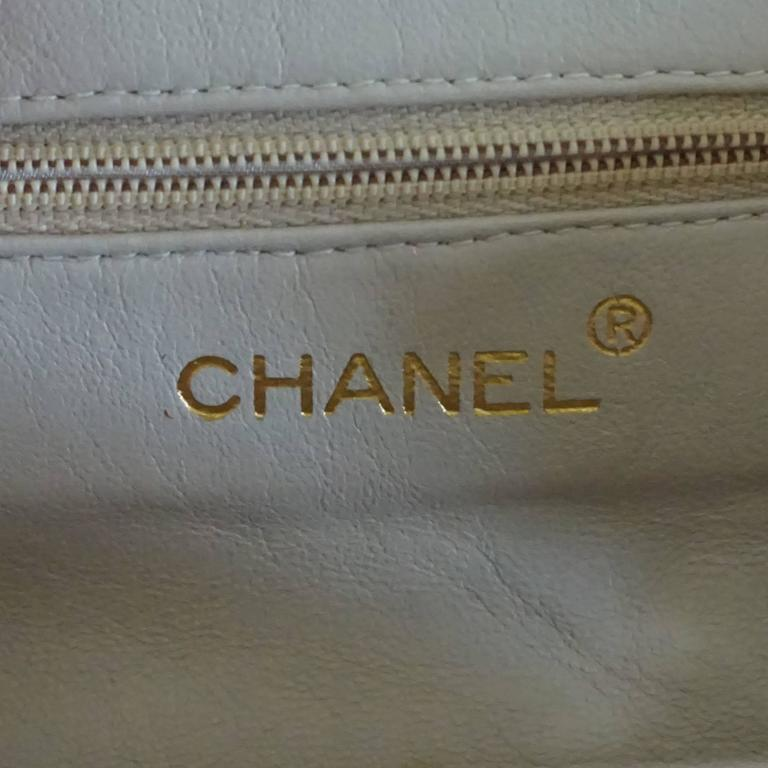 Chanel Pink Leather Frame Crossbody Bag - circa late 80's 6