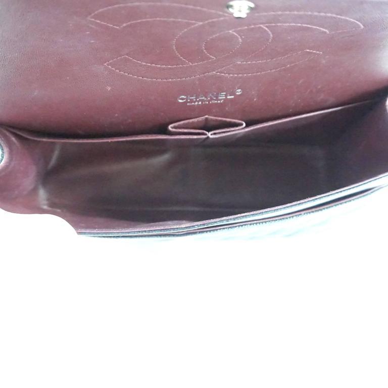 Chanel Black Caviar Jumbo Classic Handbag - SHW - 2013  For Sale 1