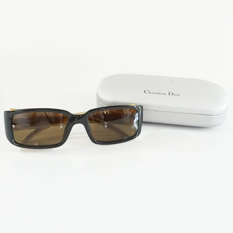 Christian Dior Black Sunglasses  6
