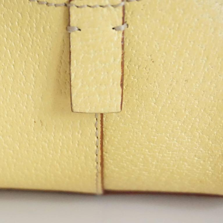 Prada Yellow Leather Mini Bag  8
