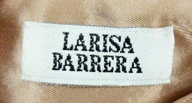 Larisa Barrera Gold and Metallic Jeweled Evening Bag For Sale 1