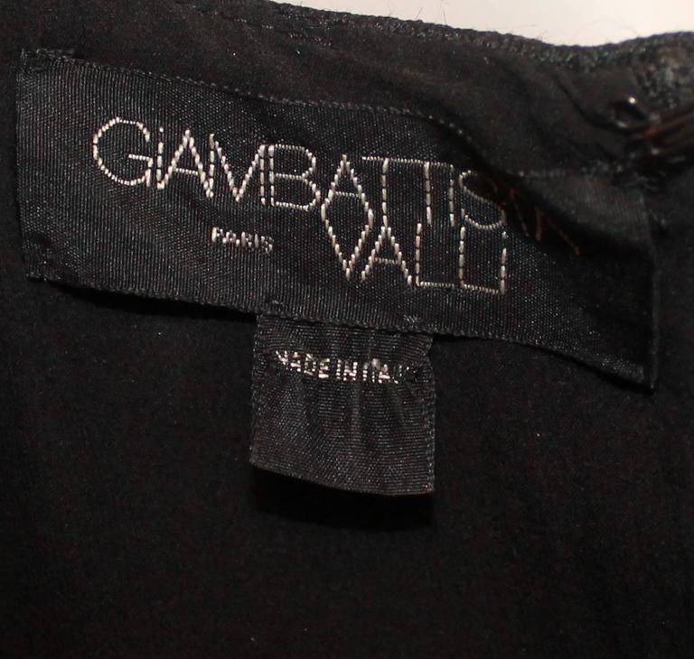 Giambattista Valli Black Stone and Mulit Tweed Dress - 10 For Sale 2