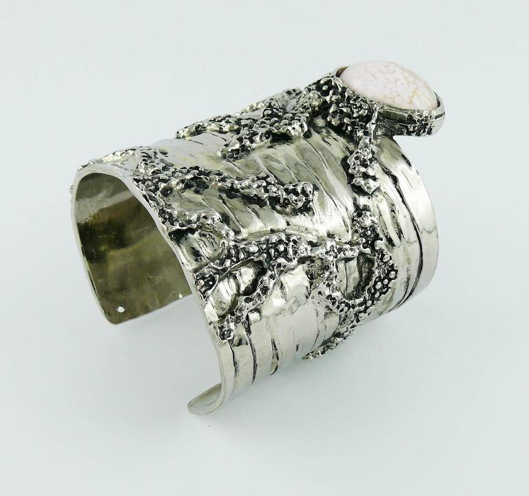 Yves Saint Laurent Ysl Arty Cuff Bracelet At 1stdibs