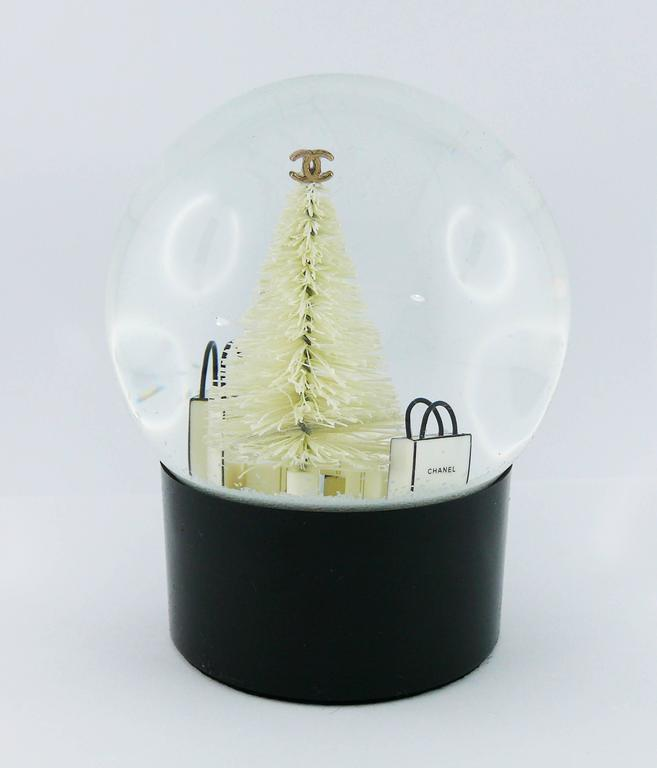 Chanel Snow Dome For Sale 1