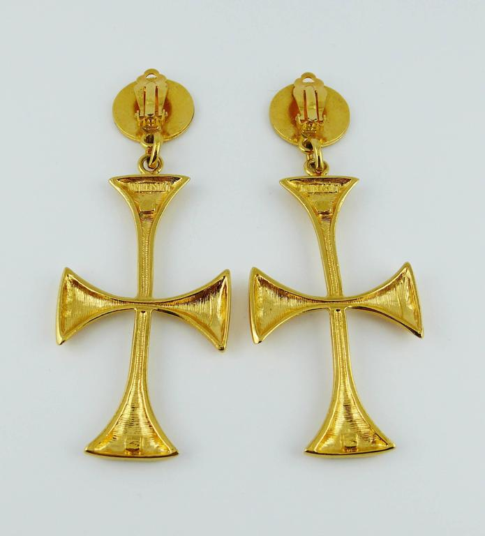 Find great deals on eBay for large cross earrings. Shop with confidence.