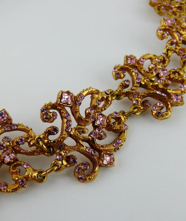 Christian Lacroix Vintage Jewelled Necklace At 1stdibs