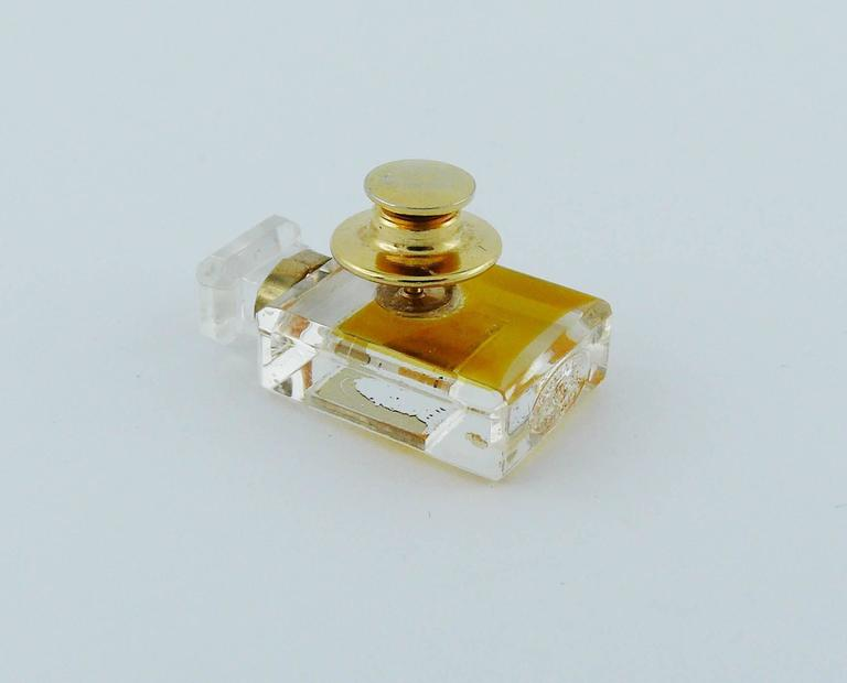Chanel Iconic No. 5 Perfume Bottle Pin Brooch 2