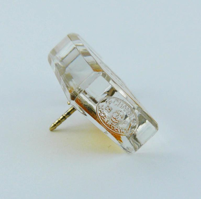 Chanel Iconic No. 5 Perfume Bottle Pin Brooch 7
