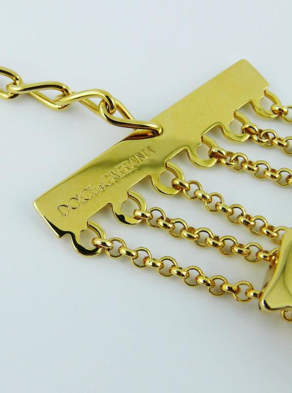 Dolce & Gabbana Iconic Runway Sex Bracelet Spring-Summer 2003 7