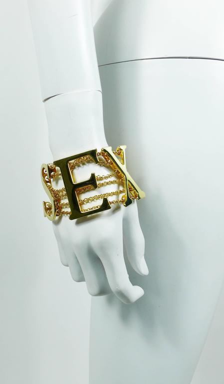 Dolce & Gabbana Iconic Runway Sex Bracelet Spring-Summer 2003 2