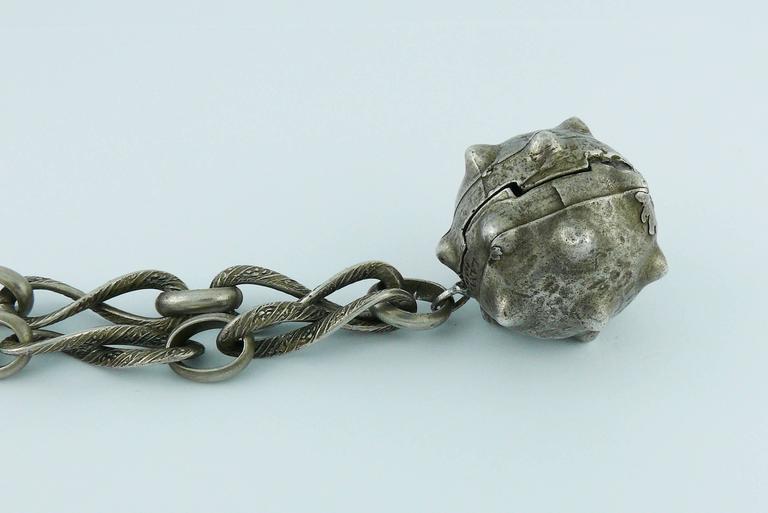 Lanvin Vintage Medieval Revival Sautoir Necklace 3