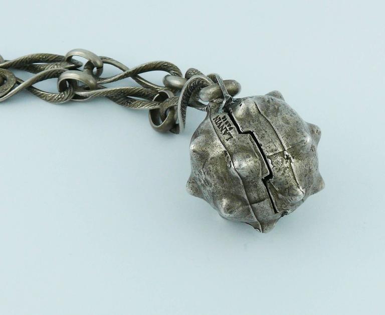 Lanvin Vintage Medieval Revival Sautoir Necklace 4