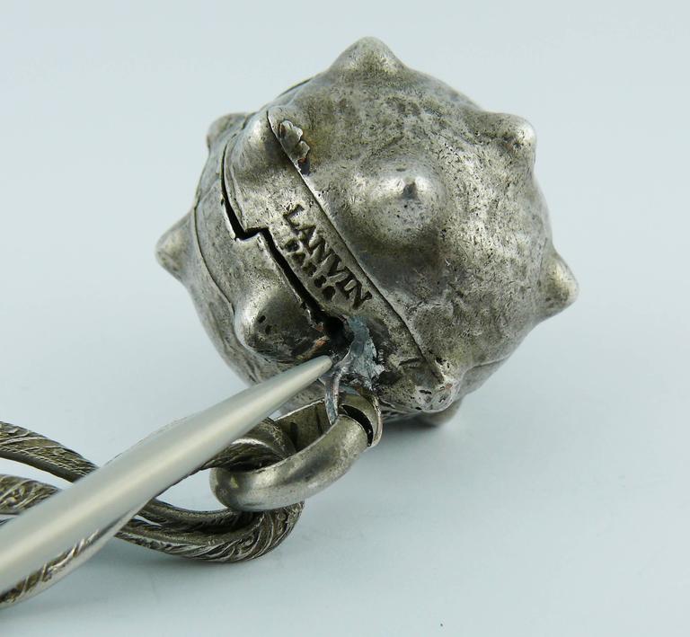Lanvin Vintage Medieval Revival Sautoir Necklace 8