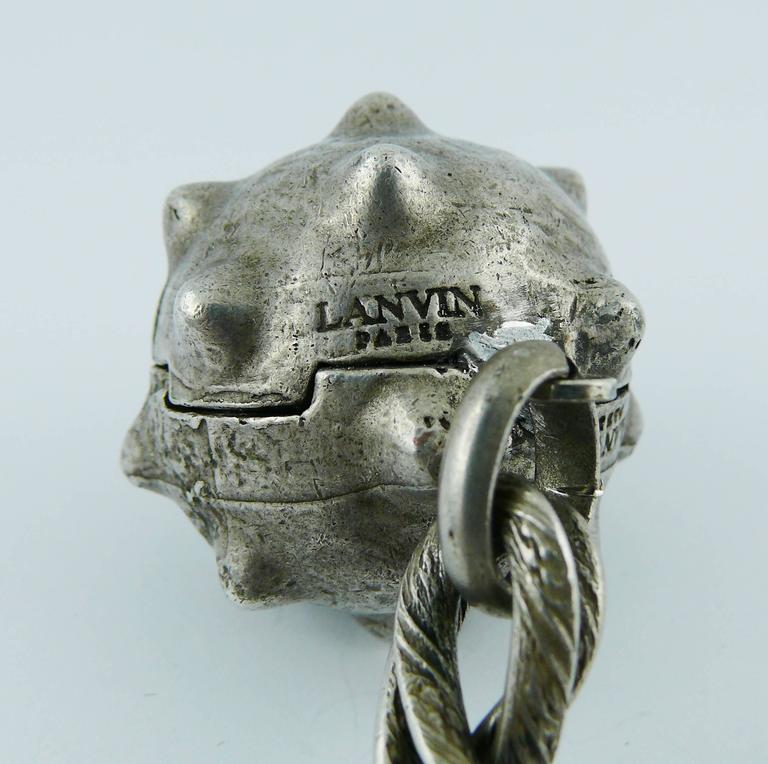 Lanvin Vintage Medieval Revival Sautoir Necklace 6