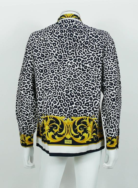 Versace Silk Shirt Mens