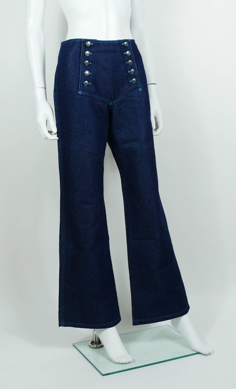 jean paul gaultier vintage iconic sailor jeans for sale at. Black Bedroom Furniture Sets. Home Design Ideas