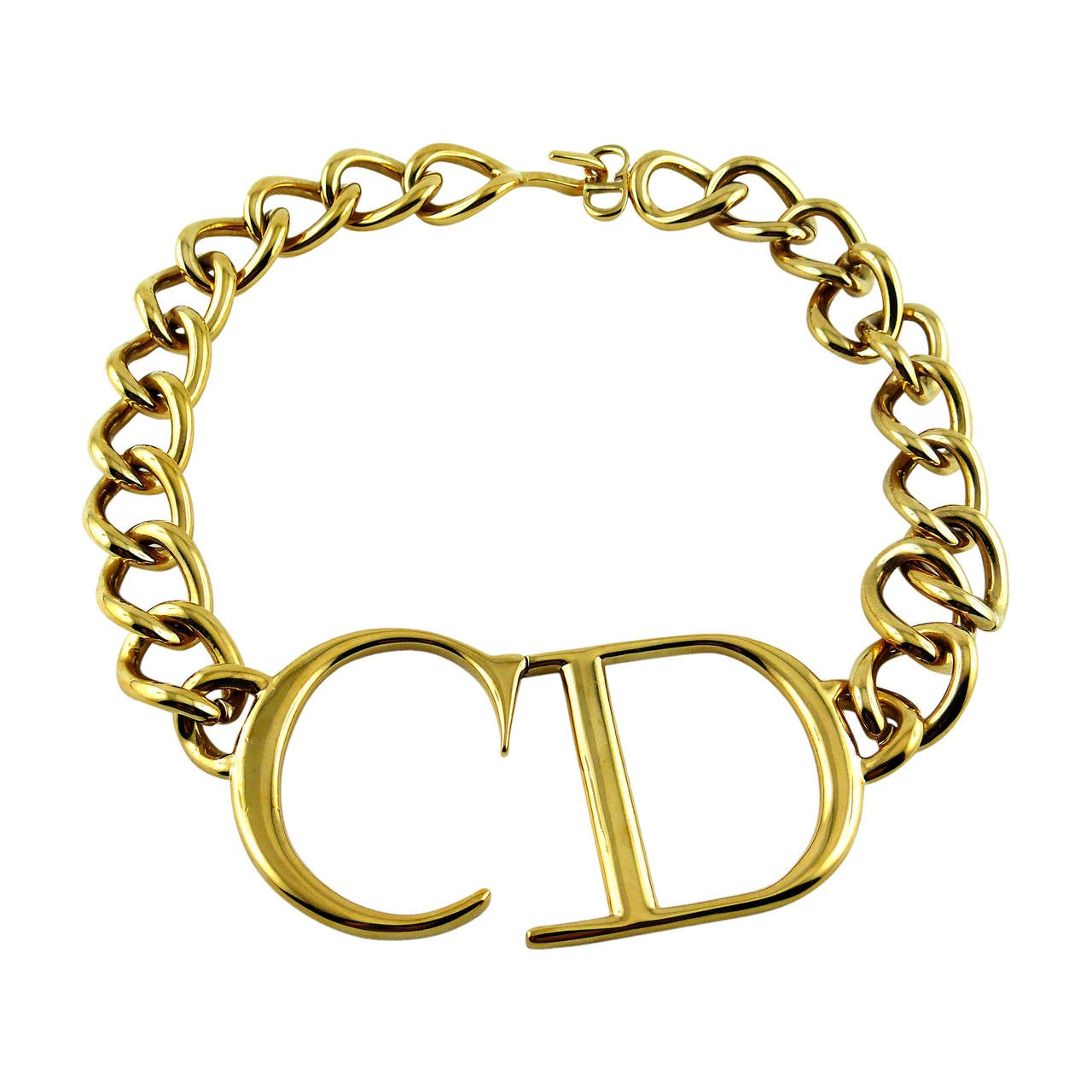Christian Dior by John Galliano Rare Chunky Monogram ...