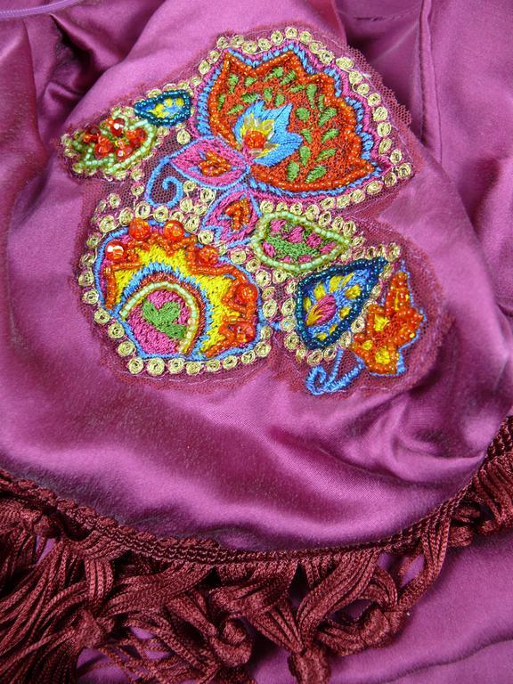 Women's John Galliano Bias Cut Silk Cocktail Dress For Sale