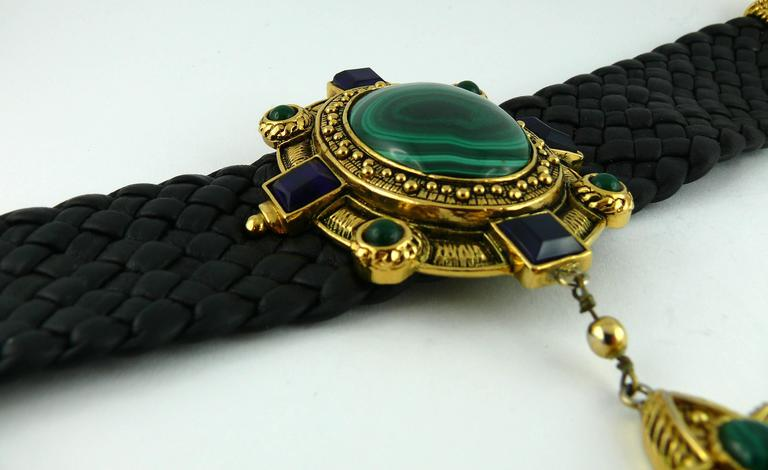 Christian Dior Elizabethean Inspired Choker Necklace Rare For Sale 1