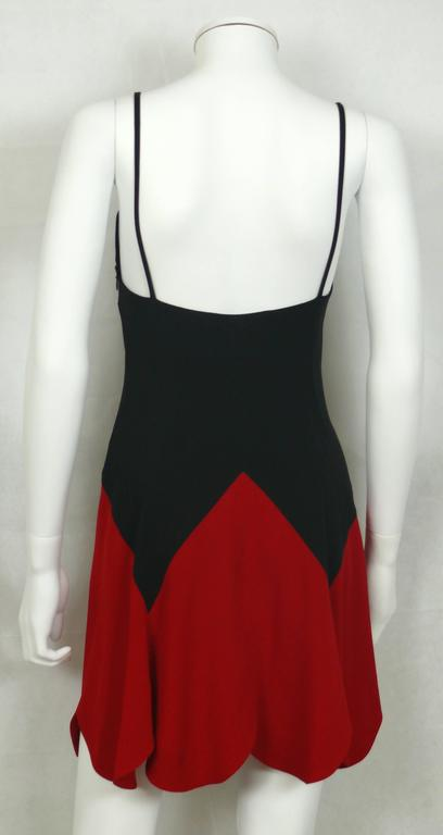 Women's Moschino Vintage Iconic Heart Mini Dress 1990s For Sale