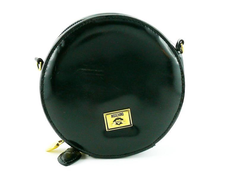 Moschino Vintage Iconic Appliqué Heart Cross Body Micro Bag 5