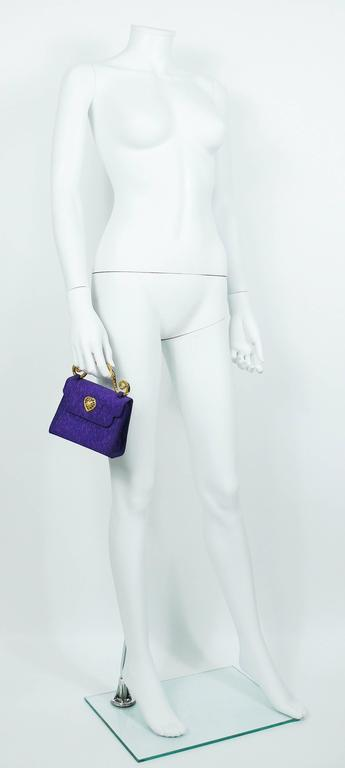 Edouard Rambaud Vintage Purple Evening Bag   2