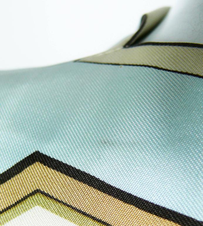 "Hermes Vintage ""Flora Botanica"" Silk Print Blouse and Shorts Set 9"