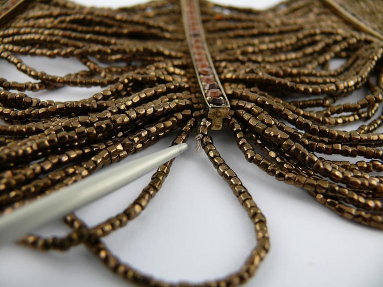 Christian Dior Multi Strand Choker and Bracelet Set 10