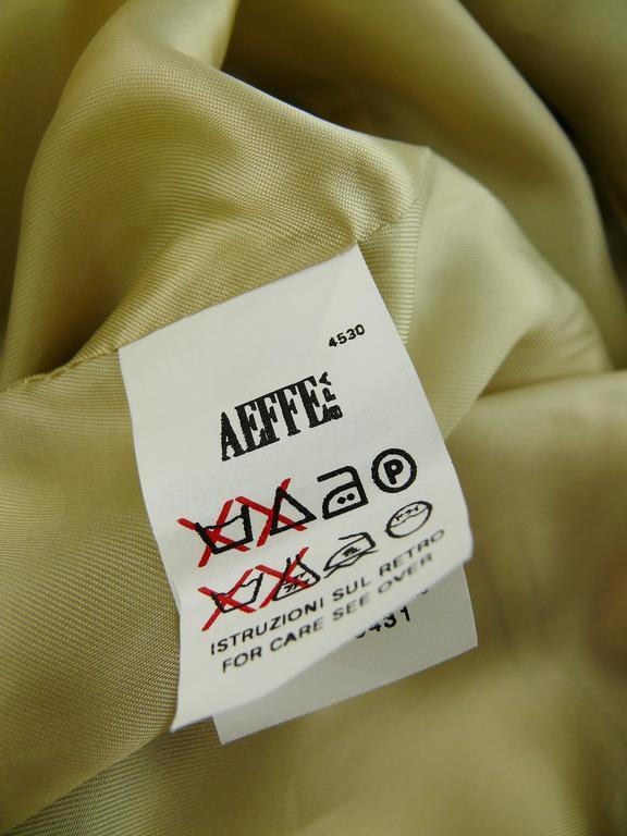 Moschino Military Style Jacket Size USA 12 10