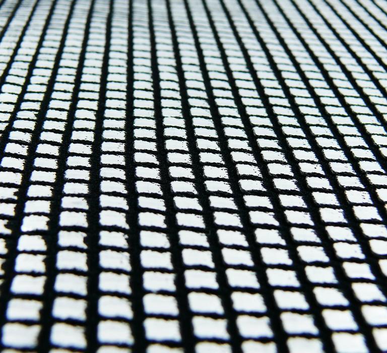 Paco Rabanne Silver Foil Grid Mini Dress 6