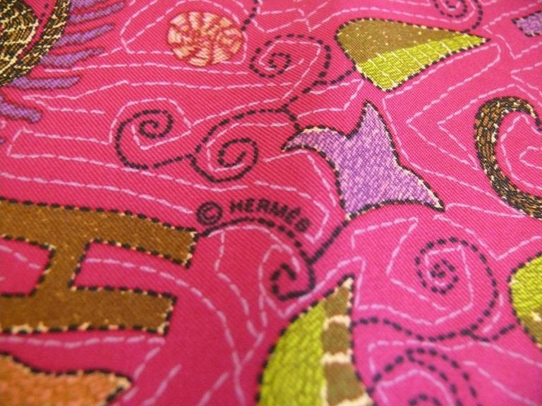 Women's Hermès Rare Silk Carre Scarf