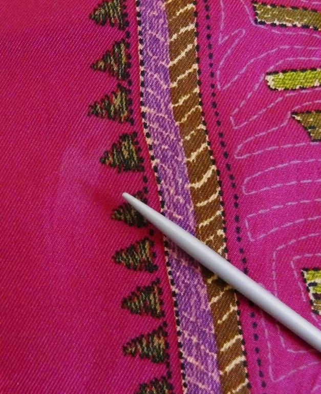 Hermès Rare Silk Carre Scarf