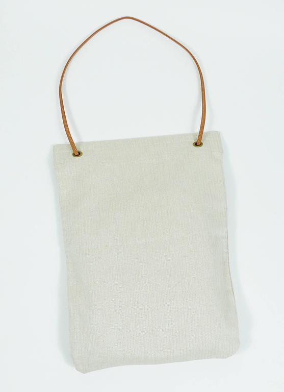 9faca2c6bb17 Hermes Vintage Aline XL Canvas Tote Bag at 1stdibs