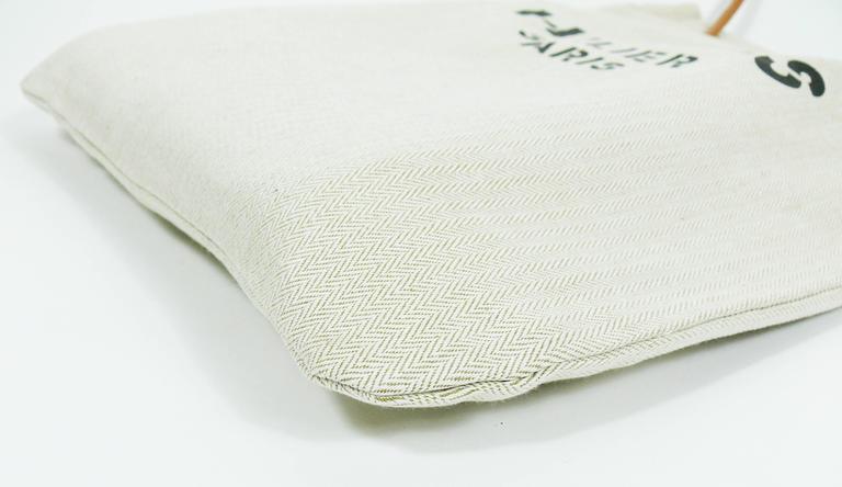 82af7a1db2f9 Women s or Men s Hermes Vintage Aline XL Canvas Tote Bag For Sale