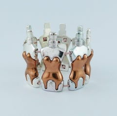 Jean Paul Gaultier Parfums Iconic Bustier Corset Bracelet